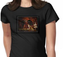 Keeper of the Crow Series (The Child) Womens Fitted T-Shirt