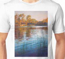'Evening Reflections' - Goulburn River Unisex T-Shirt