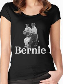 BERNIE ARRESTED! Women's Fitted Scoop T-Shirt