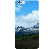 Calf Robe Mountain,  Springtime iPhone Case/Skin