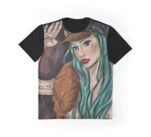 Scarlett's Salute Graphic T-Shirt
