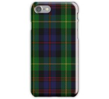 00539 Black Watch Plaid of Pipers Military Tartan  iPhone Case/Skin