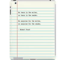 Writer Surprise iPad Case/Skin