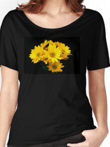 Floral portrait Women's Relaxed Fit T-Shirt
