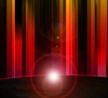 Rays of light Sticker
