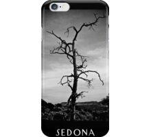 Bell Rock Vortex Sedona Arizona b&w iPhone Case/Skin