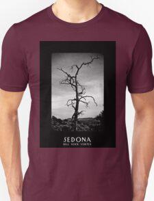 Bell Rock Vortex Sedona Arizona b&w T-Shirt