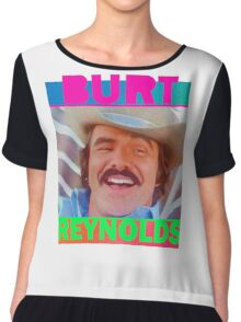 The Bandit - Burt Reynolds  Chiffon Top