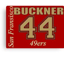 Deforest Buckner San Francisco 49ers Canvas Print