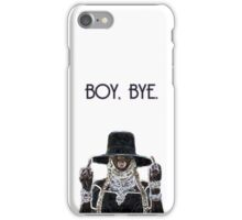 BOY, BYE. iPhone Case/Skin