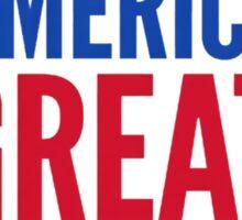 Make America Great Again2 Sticker