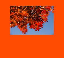 Happy Scarlet Autumn Patchwork Unisex T-Shirt