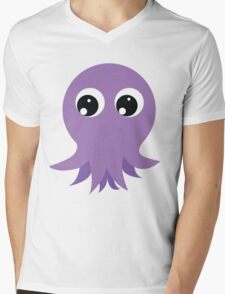 Cute Octopus Mens V-Neck T-Shirt