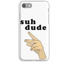 Suh Dude meme | Black Letters iPhone Case/Skin