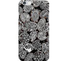 Black Doodles iPhone Case/Skin