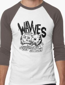 I liked Wavves Before they were cool  Men's Baseball ¾ T-Shirt