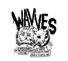 I liked Wavves Before they were cool  Photographic Print