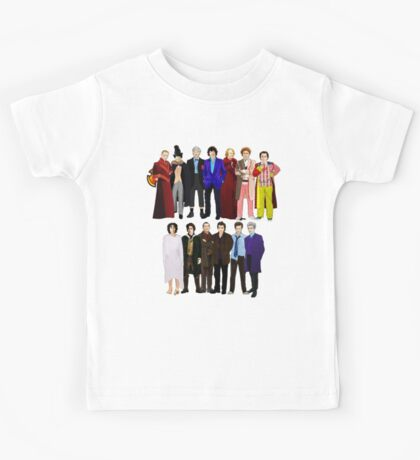 The Regenerated Doctors Kids Tee