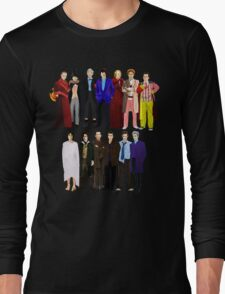 The Regenerated Doctors Long Sleeve T-Shirt