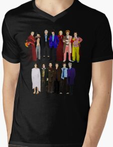 The Regenerated Doctors Mens V-Neck T-Shirt