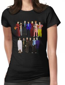 The Regenerated Doctors Womens Fitted T-Shirt