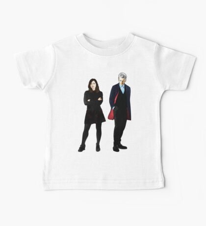 The Doctor and Clara Baby Tee