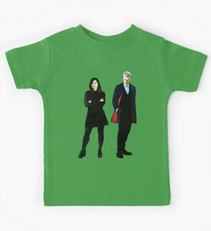 The Doctor and Clara Kids Tee