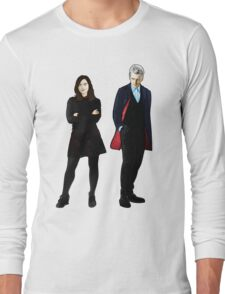 The Doctor and Clara Long Sleeve T-Shirt