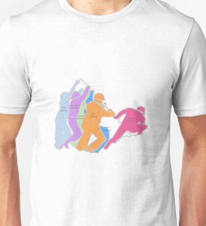 Iwo Jima Names Unisex T-Shirt