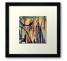 Abstract Delight Framed Print