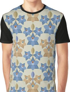 Shy Sun Orchid Graphic T-Shirt