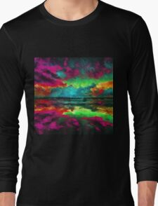 Twilight Reflections Dusk sunset Long Sleeve T-Shirt