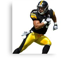 Polamalu 43 Canvas Print