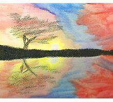 Sunset- Tree Photographic Print