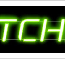 Bitchin' Neon Sign Sticker
