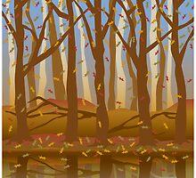 Four Seasons Forest_Fall by Lisann