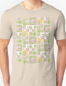 Pink Wildflower Unisex T-Shirt