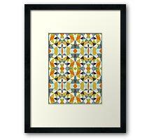 Safari Tribal Framed Print