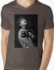 Youngjae got7 Mens V-Neck T-Shirt