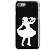 Oh Honey, You KNEW!! (White Silhouette 1) iPhone Case/Skin