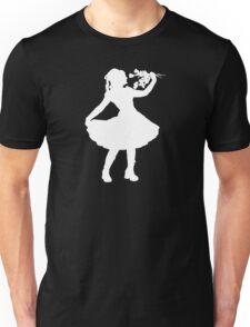 Oh Honey, You KNEW!! (White Silhouette 1) Unisex T-Shirt