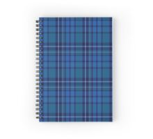 00596 Ferring Tartan  Spiral Notebook