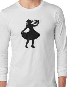 Oh Honey, You KNEW!! (Black Silhouette 1) Long Sleeve T-Shirt