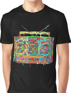 Boom Box Graphic T-Shirt