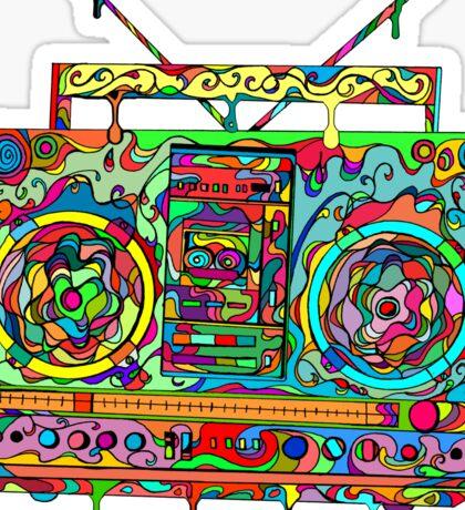 Boom Box Sticker