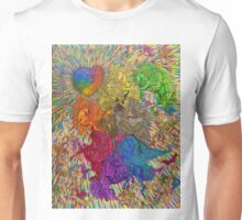 Wings Of Pride; Bow Of Freedom Drawing Unisex T-Shirt