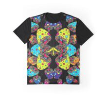 Mushroom Reflection Graphic T-Shirt