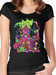 Gnome House Women's Fitted Scoop T-Shirt