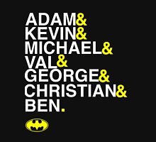 Batman actors shirt & more white version Unisex T-Shirt
