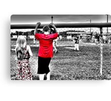 Sibling Support Canvas Print